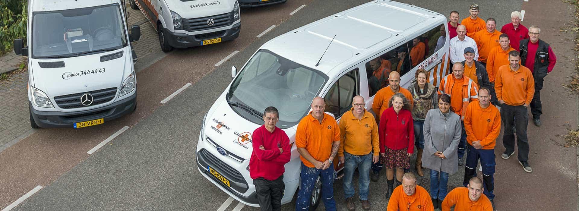 Slotambulance slotenmaker team